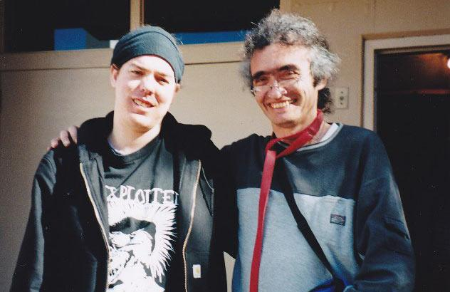 Bob Quinn (right) and Shilo Murphy. Quinn founded the University District Needle Exchange. It is now operated By Murphy through the People's Harm Reduction Alliance.