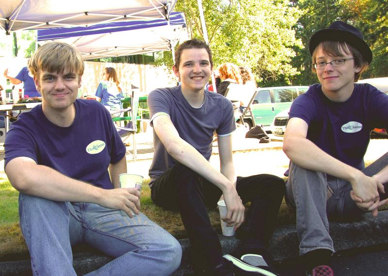 Alex Brenner, Jordan Howard and Dorian Hinkle