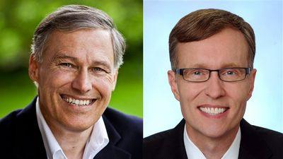 Jay Inslee and Rob McKenna
