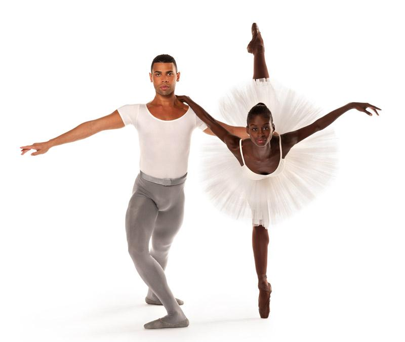 Taurean Green and Ashley Murphy of Dance Theatre of Harlem.