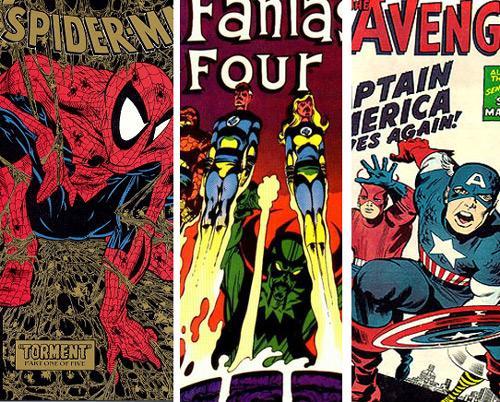 Marvel Comics covers