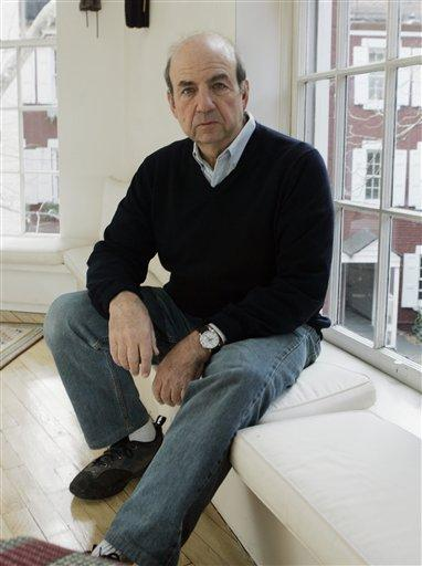 Author Calvin Trillin sits in his Greenwich Village apartment in New York Dec. 11, 2006.