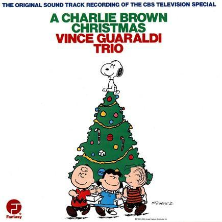 Cover art for A Charlie Brown Christmas album.