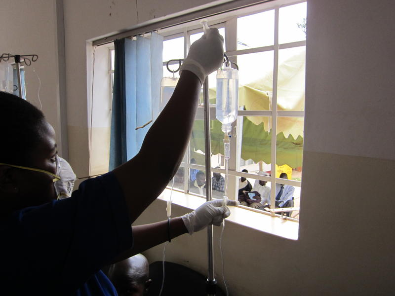 The Uganda Cancer Institute doesn't have high-tech equipment like MRI machines or gamma knives, but intravenous chemotherapy is possible – and in many cases, curative.