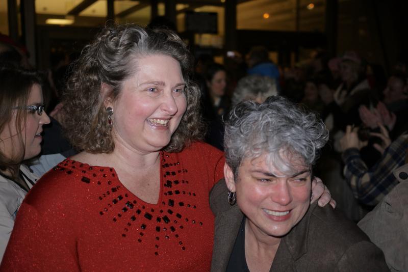 Teri Bednarski and Saracristina Garcia, Tacoma