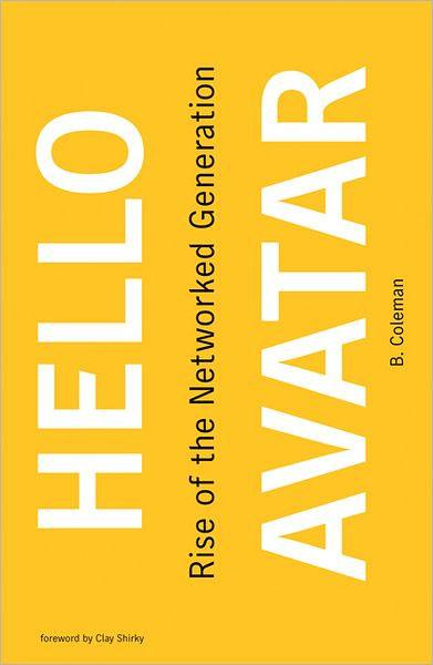 "Cover of ""Hello Avatar"" by Beth Coleman."