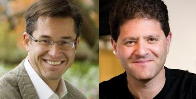 Richard Barton (left) and Nick Hanauer aren't afraid of risks.