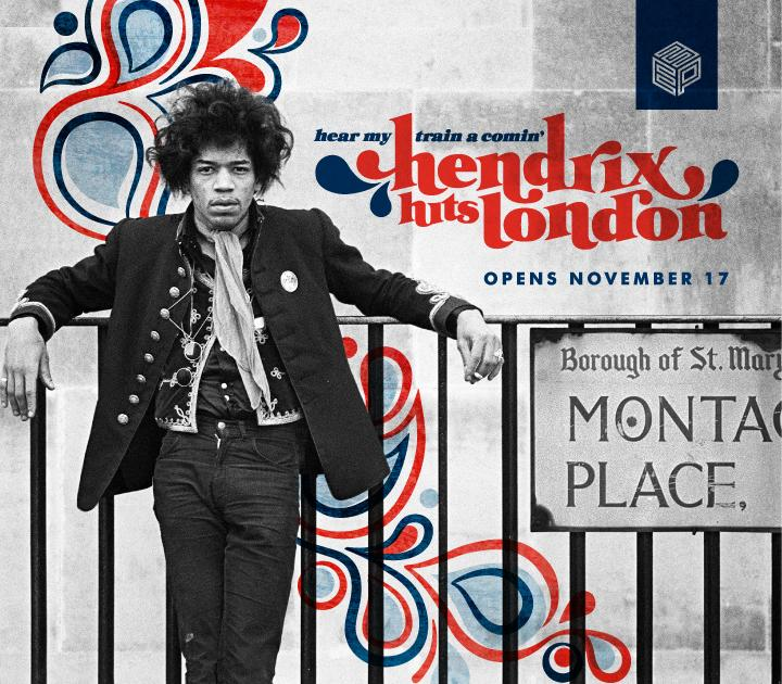 Jimi Hendrix Hits London