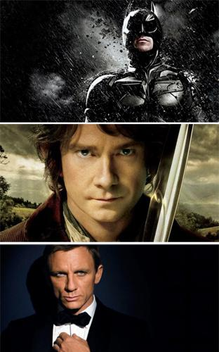 Batman, Bilbo, Bond