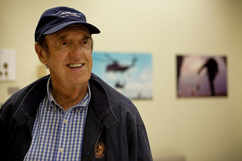 Actor Jim Nabors during a visit to Marine Corps Base Hawaii April 22, 2010.