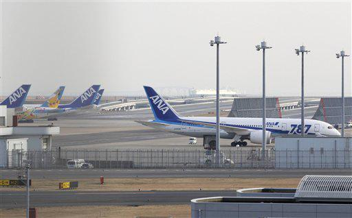 All Nippon Airways 787s