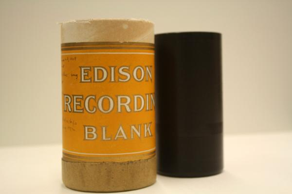 Wax cylinder recording (1929) from the papers of Melville Jacobs, an anthropologist at UW. The recordings are from various Pacific Northwest indigenous tribes. From the Special Collections Archive, Allen Library, UW.
