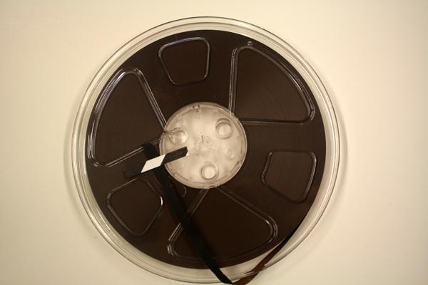 The same recording migrated to reel-to-reel tape in the 1970s. From the Special Collections Archive, Allen Library, UW.