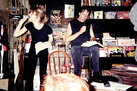 Legs McNeil and Gillian McCain read from 'Please Kill Me,' September 2000.