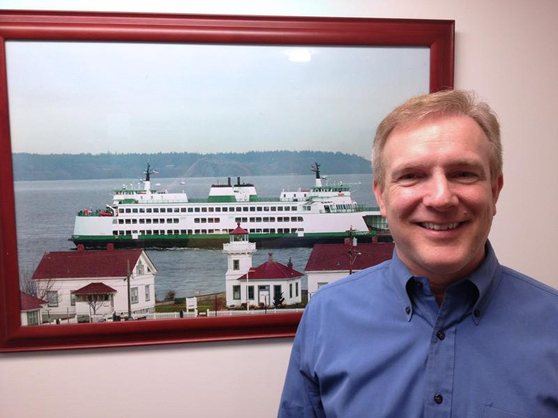 Mukilteo Mayor Joe Marine