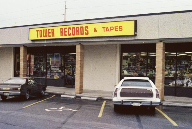 The Tacoma Tower Records Store on 38th Street wasn't just a store, it was a scene. Complete with cutting edge finds, knowledgeable staff, colorful displays, and intriguing people, music-hungry teens combed the aisles in search of new treasures.