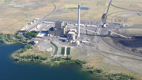Portland General Electric's coal-fired Boardman Power Plant along the Columbia River. it's among the greenhouse gas emitters in Oregon and Washington not subject to a carbon tax. Some Northwest policy makers want to change that.