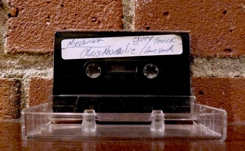 Marco Collins' personal archival tape of an interview with Nirvana drummer Krist Novoselic at Tower Records Queen Anne in 1992.