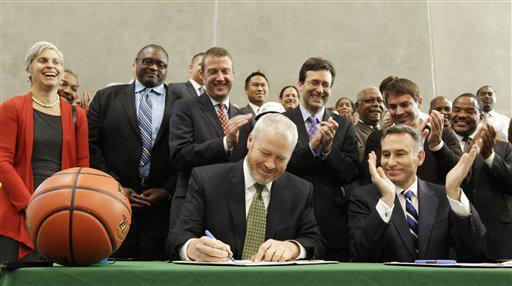 McGinn Arena Deal
