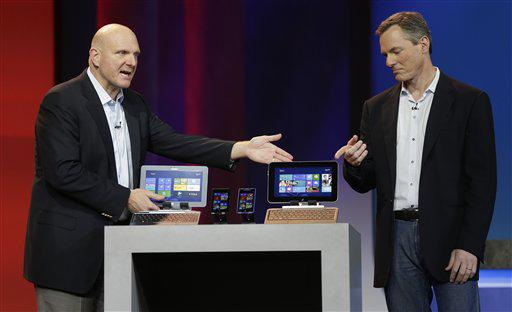 Steve Ballmer and Paul Jacobs