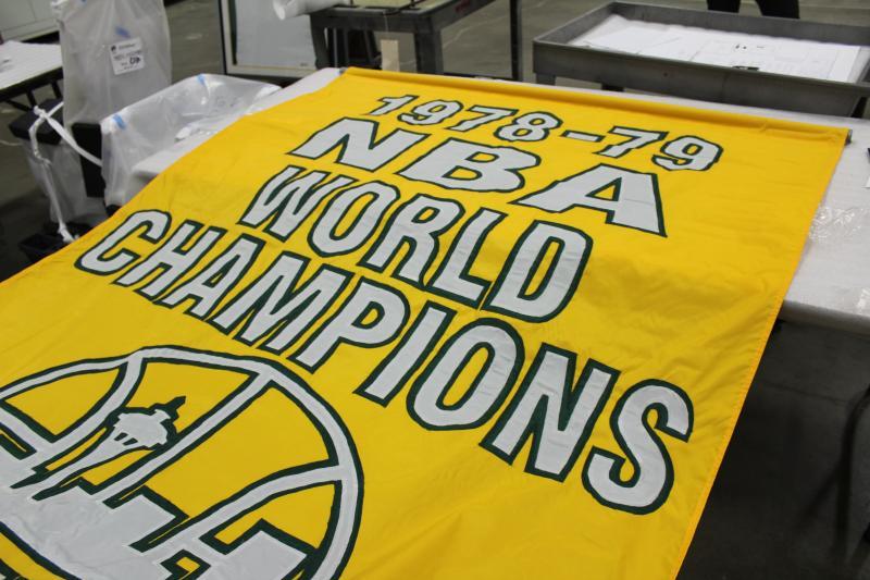 1978-79 championship banner