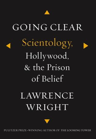 Cover of 'Going Clear' by Lawrence Wright.