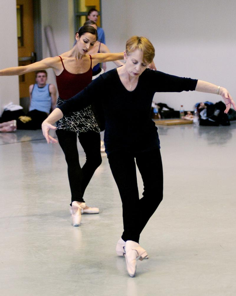 Francia Russell teaches Balanchine at Pacific Northwest Ballet.