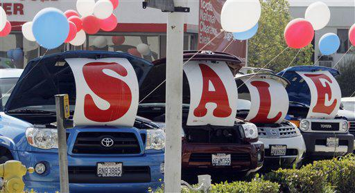 Used car sales