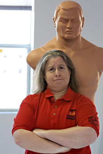 Joanne Factor, founder of Strategic Living and self-defense expert.