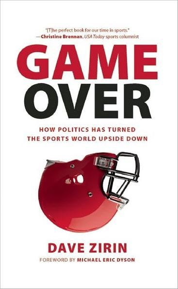 Cover of 'Game Over' by Dave Zirin.