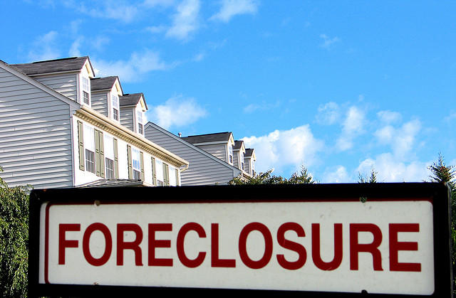 Foreclosure housing house