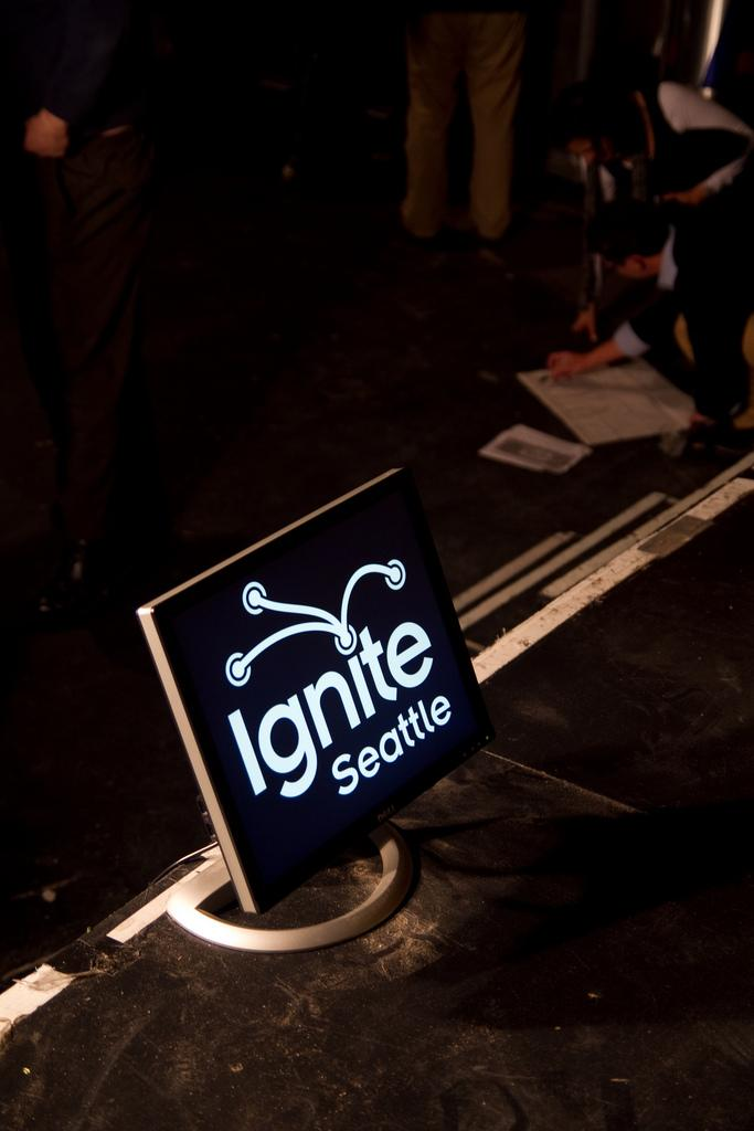 Ignite Seattle.