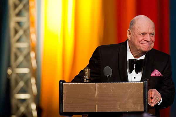 Comedian Don Rickles at onstage at The 2012 Comedy Awards in New York.