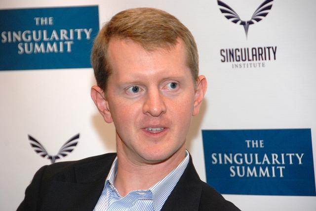 Ken Jennings at The Singularity Summit on October 15, 2011.