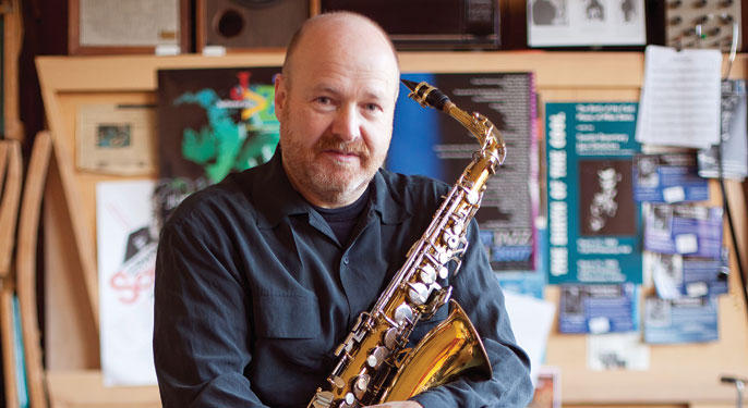 University of Washington saxophone professor Michael Brockman is the inventor of the Broctave Key.