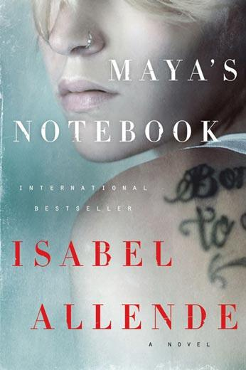 """Cover of """"Maya's Notebook"""" by Isabel Allende."""