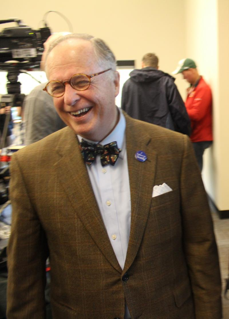 """Commercial real estate broker Charlie Staadecker at the """"Super South Seattle Mayor's Forum"""""""