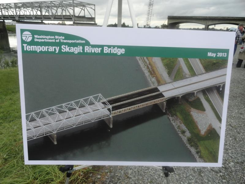 WSDOT's proposed temporary replacement.