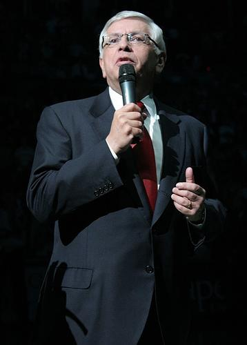NBA commissioner David Stern, April 2007.