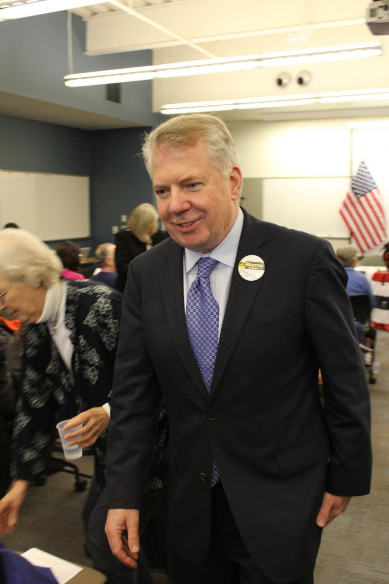 "State Senator Ed Murray at the ""Super South Seattle Mayor's Forum"""