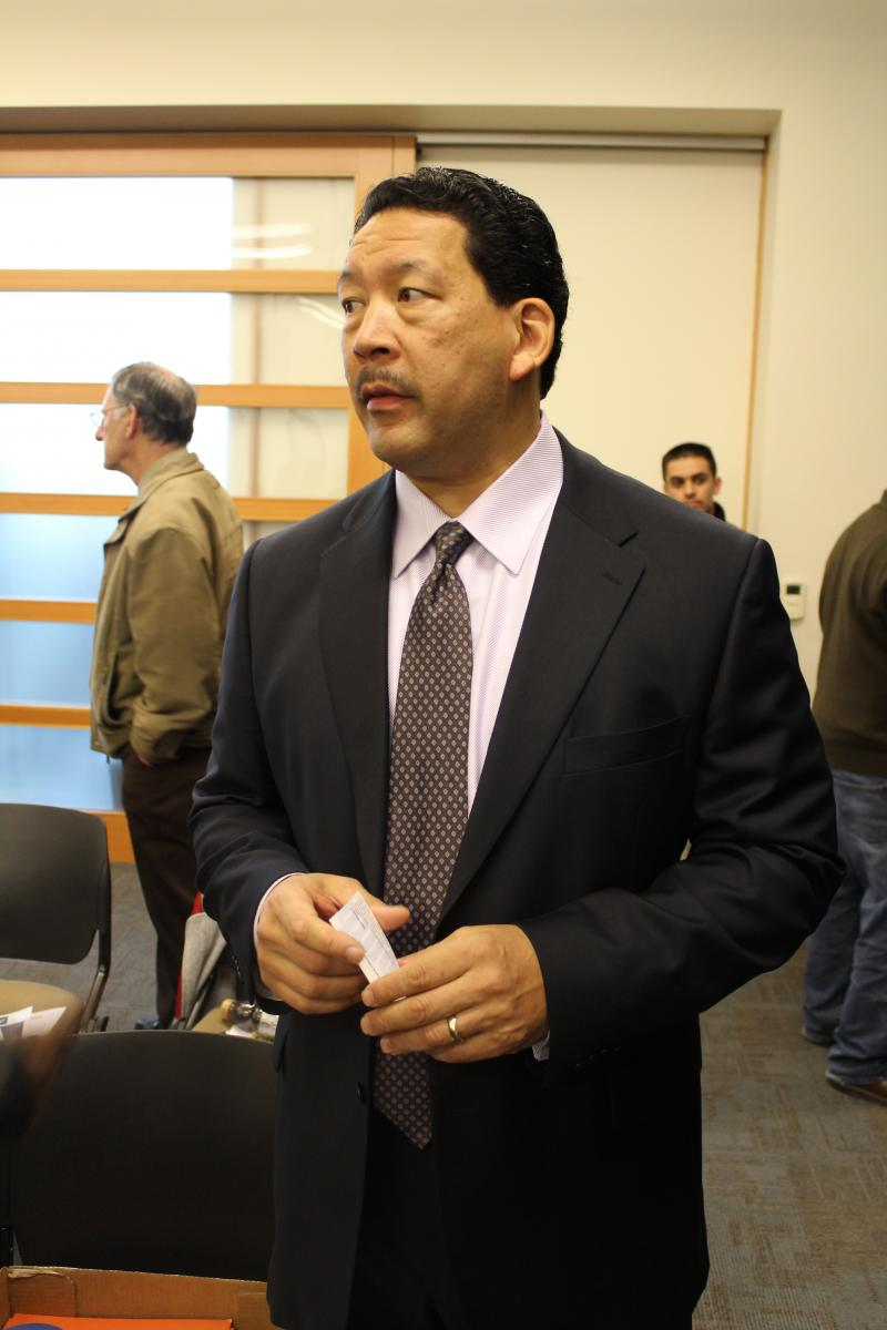 """Bruce Harrell at the """"Super South Seattle Mayor's Forum"""""""