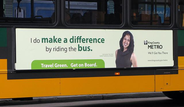Most bus ads are pretty innocuous: advertising metro, plumbers or movies. But what about when groups want to pay for controversial ads?