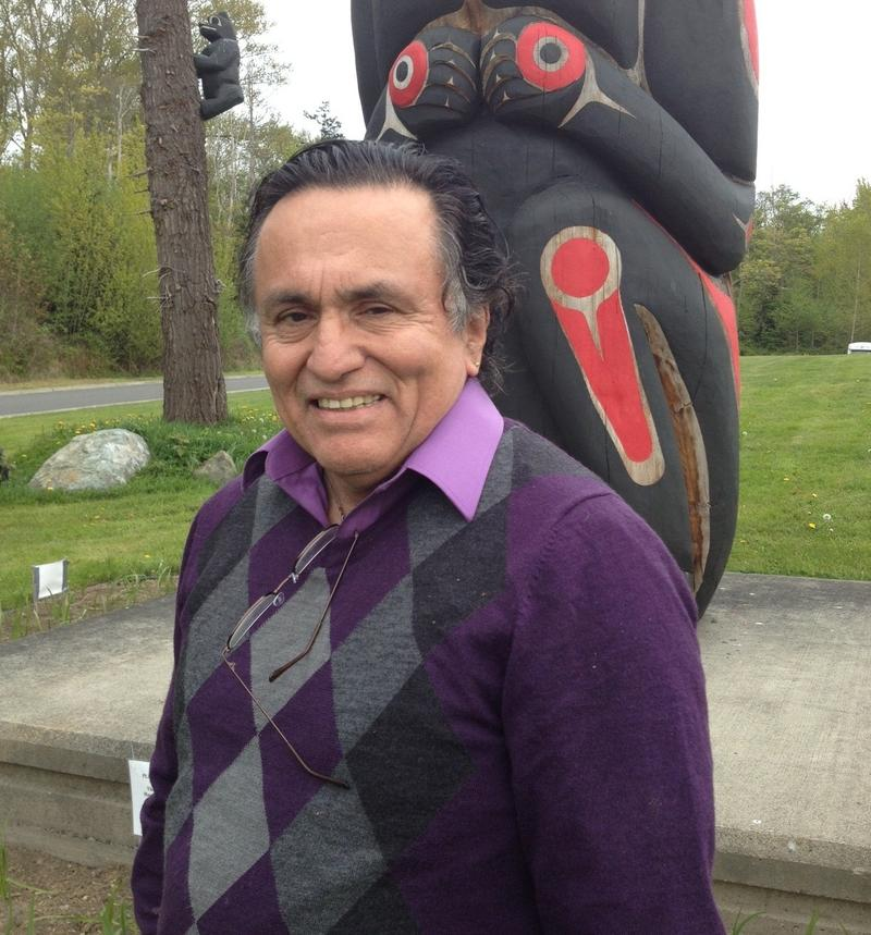 Jewell James is a longtime leader of the Lummi Tribe.
