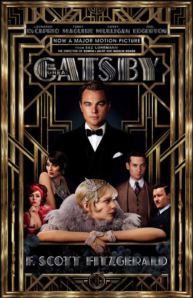 "Movie poster for ""The Great Gatsby,"" to be released May 10."