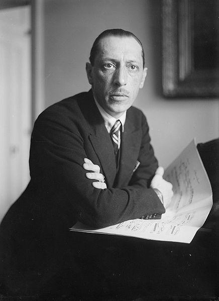 "Composer Igor Stravinsky incited public uproar with his groundbreaking piece ""Rite of Spring."""