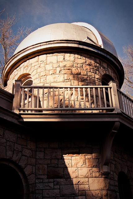 The Theodore Jacobsen observatory on the University of Washington campus is a good place to observe this year's astronomical wonders.
