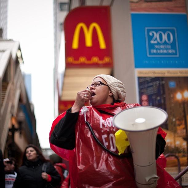 Fast food workers across the nation, including Seattle, launched a strike for better conditions and wages.