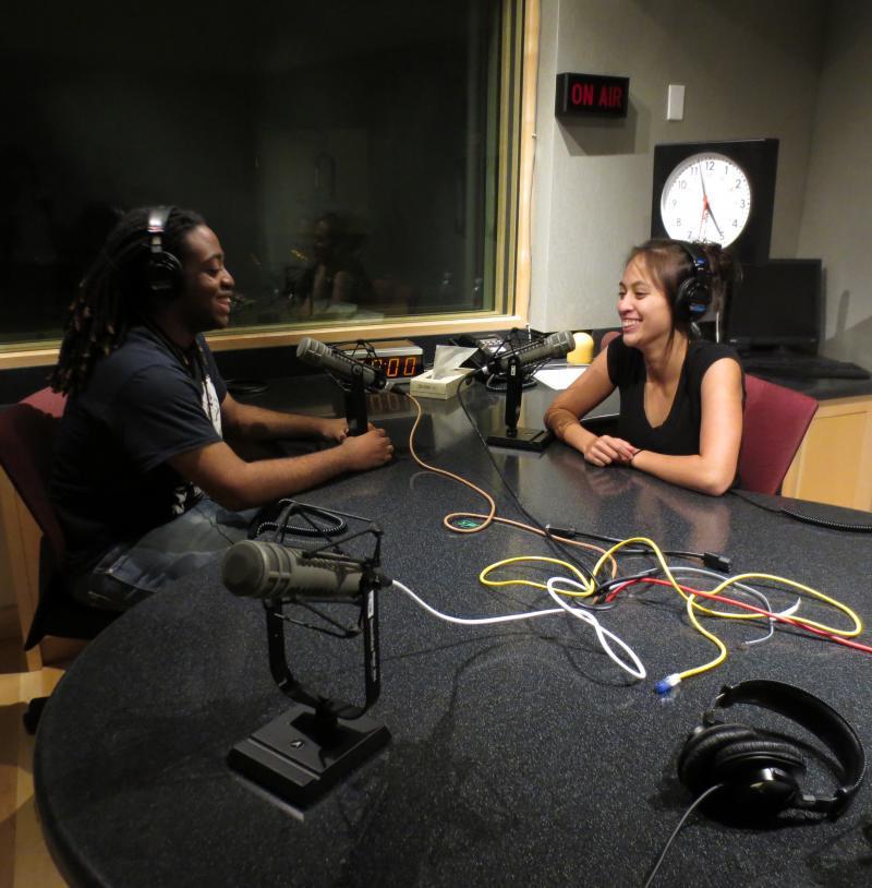 RadioActive's Antonia Dorn and Kadian Vanloo