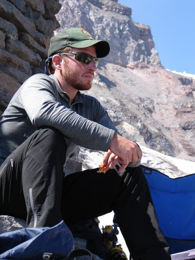 Ranger Nick Hall, who died on Mount Rainier June 21, 2012.