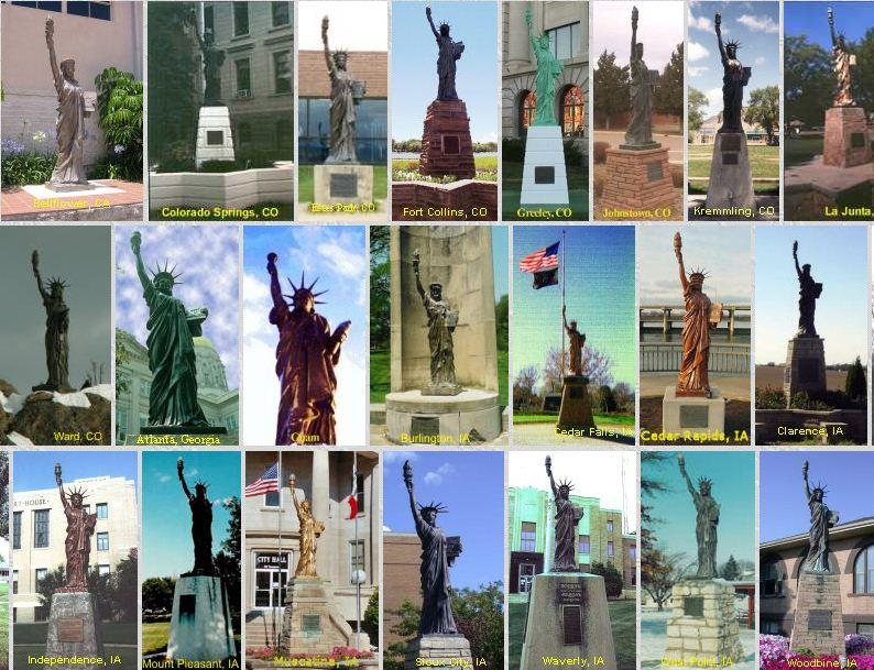 Seattle's Statue of Liberty was one of around 200 such statues erected by Boy Scouts across the country.